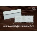 Invitatie Nunta accesorizata 30091
